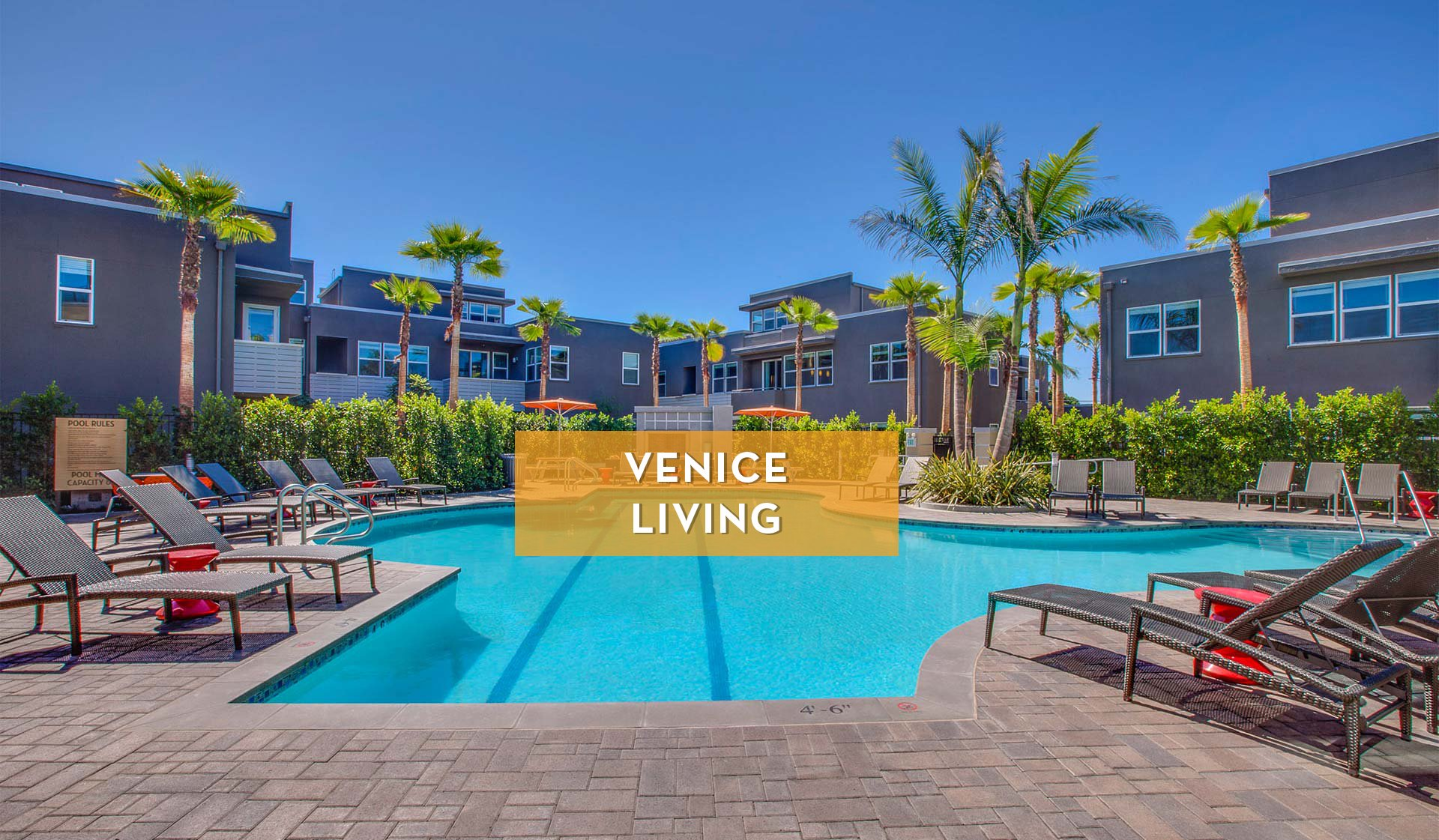 Lincoln Place Apartment Homes - Pool - Venice, CA