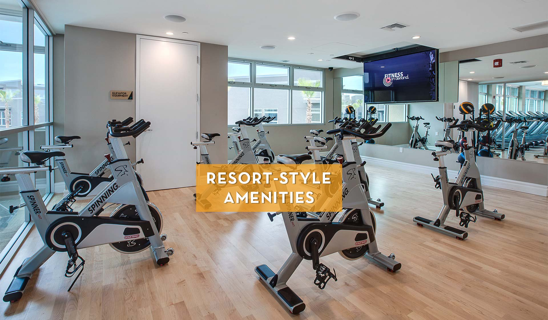 Lincoln Place Apartment Homes - Fitness Center - Venice, CA