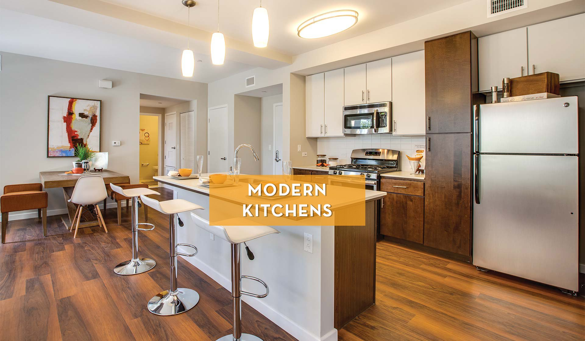 Lincoln Place Apartment Homes - Modern Kitchen - Venice, CA