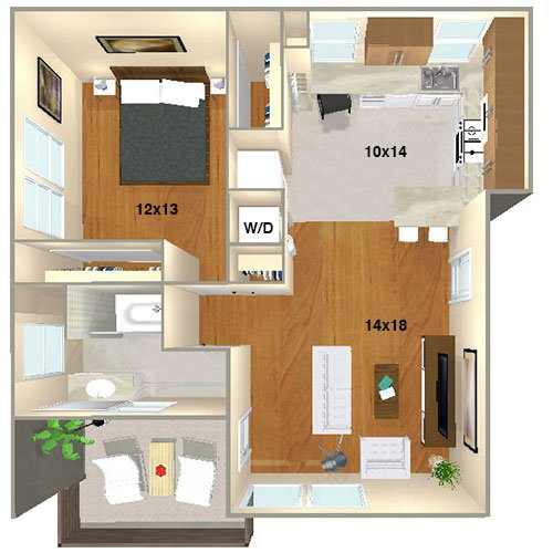 Lincoln Place Apartment Homes | Venice, CA | Floor Plans