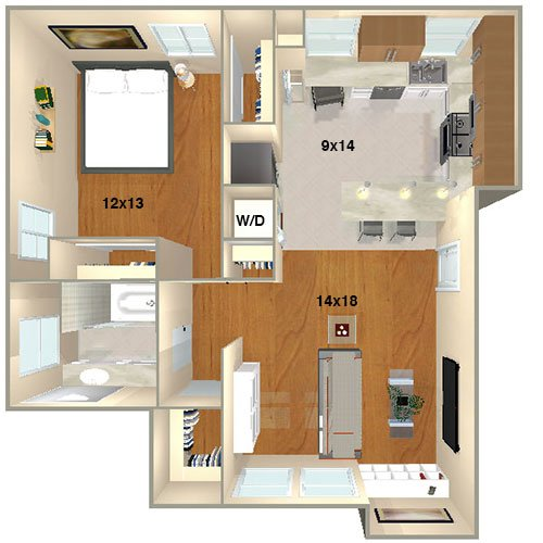 Lincoln Place Apartment Homes | Venice, CA | Floor Plans on luxury townhouse plans, garden townhouse plans, duplex townhouse plans, bungalow townhouse plans, 1 bed townhouse plans, 1 bedroom cabin,